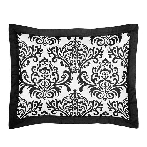 Black And White Damask Bedding Sets