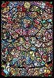 ジグソーパズル ディズニー&ディズニー/ピクサー ヒロインコレクション ステンドグラス ピュアホワイト 1000ピース DP-1000-028 テンヨー