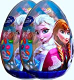 Disney Frozen Easter Egg Shaped Filled with Candy, Jelly Beans, Sour Candy, Lollipops (pack of 2)