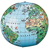 Inflatable Animal World Globe Beach Ball