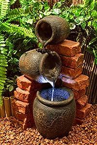 Fontana con anfore per l 39 olio giardino e - Giare da giardino ...