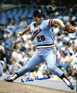Autographed Hand Signed Dr Mike Marshall Minnesota Twins 8x10 Photo by Hall of Fame Memorabilia