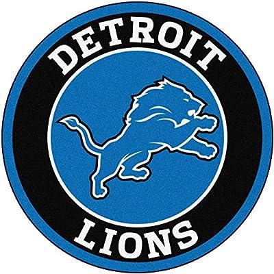 Fan Mats NFL Detroit Lions Roundel Mat