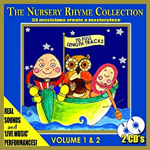 The Nursery Rhyme Collection - 33 Musicians Create A Nursery Rhymes Masterpiece 2 Cds by CTMS Ltd