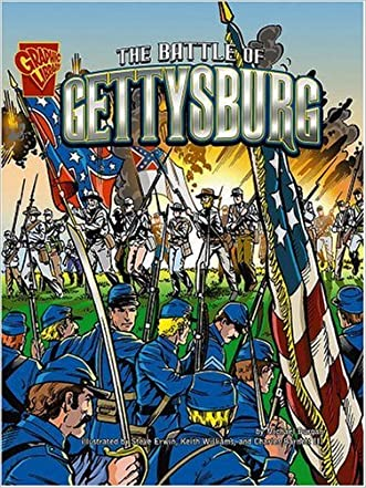 The Battle of Gettysburg (Graphic History) written by Michael Burgan