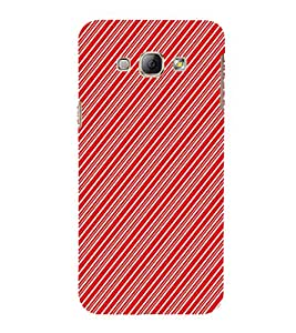 EPICCASE stripe cross Mobile Back Case Cover For Samsung Galaxy A3 (Designer Case)