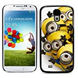 Colorful Printing (Despicable Me: Minion Rush) Aluminum Metal and Hard Plastic Back Case for Samsung Galaxy S4 (I9500 / I9505 / I9505G) / SGH-i337 , With 3 Pieces Screen Protector and 1 Stylus Pen