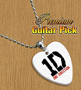 Printed Picks Company 5055442932827 One Direction Chain/Necklace Bass Guitar Pick Both Sides Printed by Printed Picks Company