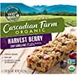 Cascadian Farm, Organic Chewy Granola Bars, Harvest Berry, 1.2 oz, 6 Count, 6 Pack