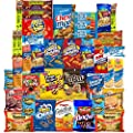 Ultimate College Care Package Snacks Assortment (40 Count) from Snack Chest