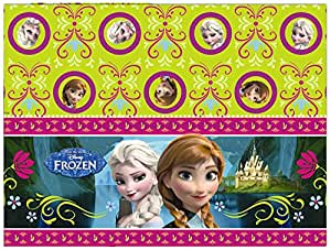 Procos S.A. 180 x 120 cm Plastic Disney Frozen Table Cover