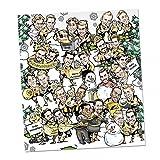 BVB Borussia Dortmund COMIC - ADVENTSKALENDER 2016