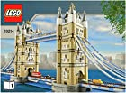 INSTRUCTION MANUALS for Lego Sculptures Set #10214 TOWER BRIDGE