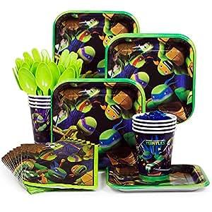 Amazon.com: Ninja Turtles TMNT Standard Party Supplies Kit