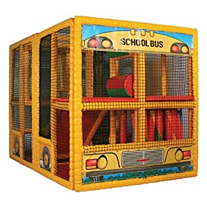 School Bus Contained Play Center