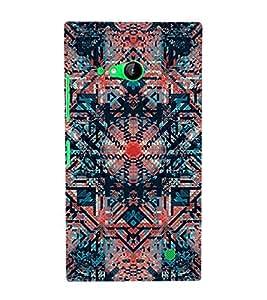 Abstract Painting 3D Hard Polycarbonate Designer Back Case Cover for Nokia Lumia 730 :: Microsoft Lumia 730 :: Microsoft Lumia 735