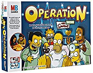 MB Games - Simpsons Operation