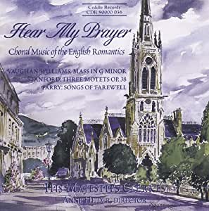 Hear My Prayer: English Choral