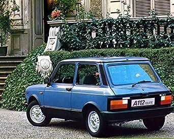 Amazon.com: 1978 ? Fiat Autobianchi Abarth A112 Automobile Photo