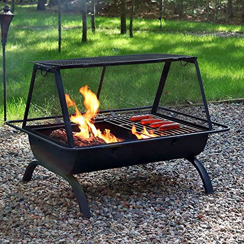 Sunnydaze-35-Inch-Northland-Grill-Fire-Pit-with-Protective-Cover