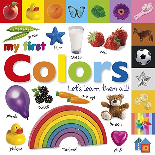 Tabbed Board Books: My First Colors: Let's Learn Them All! (Tab Board Books) (Picture Books About Babies compare prices)