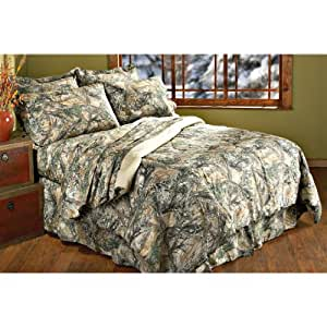 All - In - One True Timber MC2 Camo Bedding Set, QUEEN