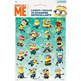 Unique Despicable Me Sticker Sheets (4 Count)
