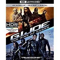 G.I. Joe: The Rise Of Cobra [4K Ultra HD + Blu-ray]