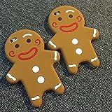 スマホケース スマホカバー iPhoneケース でかケース シリコンケース クッキー アイシング 人形 人 ip5s