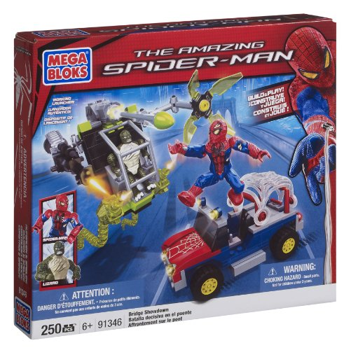 Mega Bloks Spiderman 4 Bridge Showdown Amazon.com