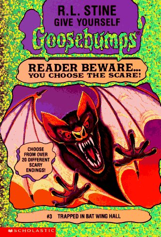 Trapped in The Bat Wing Hall by R. L. Stine