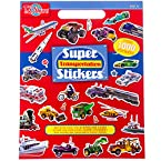 Super Transportation Sticker Book