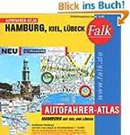 Falk Autofahrer-Atlas Hamburg, Kiel,...