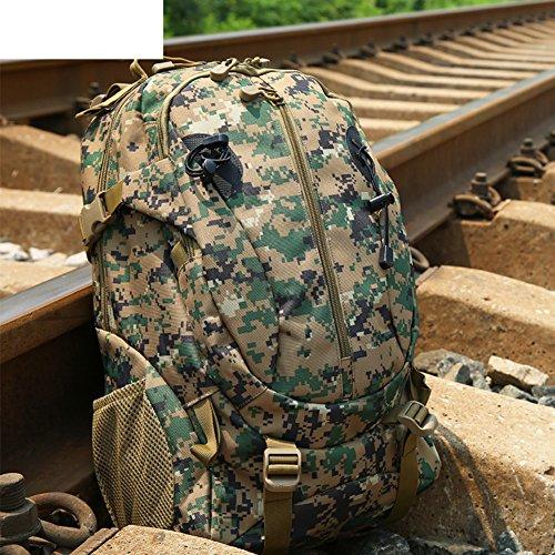Camouflage tactique / sac à dos / extérieur sac de sport sac / sac de Voyage imperméable à l'eau-2 35L