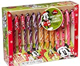 Disney Mickey Mouse Holiday Magic Candy Canes, 2 Boxes of 12 Candy Canes (24 Candy Canes)