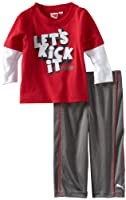 Puma - Kids Baby-boys Infant Let's Kick It Two Piece Set from Puma - Kids