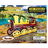 Puzzled Rolling Locomotive Illuminated 3D Puzzle ~ Puzzled