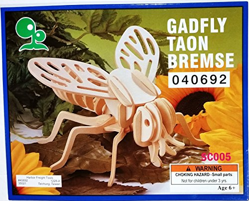 Gadfly Wooden 3-D Puzzle - 1