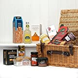 The Windsor Gourmet Hamper - Gift ideas for -Fathers Day, Valentines, Presents, Men, Him, Dad, Her, Mum, Thank you, Wedding Anniversary, Engagement, 18th,21st,30th,40th,50th,60th,70th,80th,90th Birthday Gifts