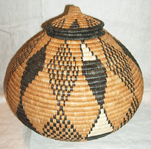 New Hand Made African Ukhamba Basket