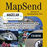 Magellan MapSend CD for Meridian and MAP330 Series GPS Handhelds