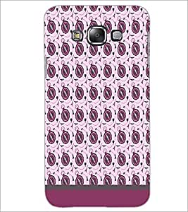 PrintDhaba Pattern D-1825 Back Case Cover for SAMSUNG GALAXY A7 (Multi-Coloured)
