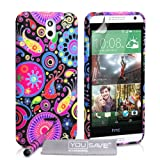 Yousave Accessories HTC Desire 610 Case Jellyfish Silicone Gel Cover With Mini Stylus Pen