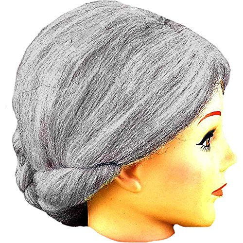 Old Lady Adult Wig
