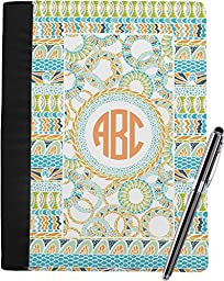 Teal Ribbons & Labels Notebook Padfolio
