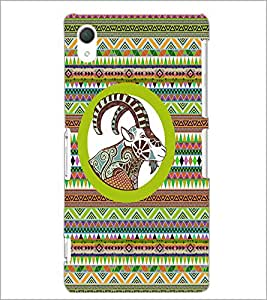PrintDhaba Zodiac Aries D-5797 Back Case Cover for SONY XPERIA Z2 (Multi-Coloured)