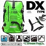 【ストリームトレイル】DRY TANK DX 40L オリジナルロゴプリント ターポリン素材防水機能付バックパック