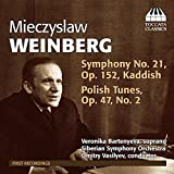 Weinberg: Symphony 21 [Dmitry Vasilyev] [Toccata Classics: TOCC 0193]