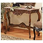 Design Toscano The Dordogne Marble Topped Console Table