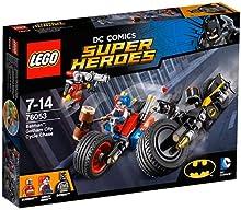 Comprar LEGO Super Heroes - Set Batman y persecución en moto por Gotham City, multicolor (76053)